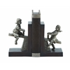 Benzara Polystone Boy/Girl Bookend Pair With Versatile Decor Appeal