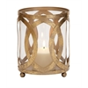 Classy Styled Metal Glass Candle Lantern