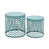 Exclusive Metal Accent Table Set Of 2