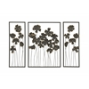 Chic Set Of Three Metal Outdoor Wall Décor
