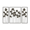 Striking Set Of Three Metal Outdoor Wall Décor