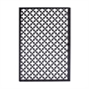 Fashionable Metal Wall Decor, Black