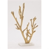 Artistic Metal Marble Gold Tree, Gold