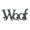 Mankind's Best Friend Wall Hook With Woof Message