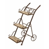 Benzara Stair Step Ladder Planter Stand For Your Plants