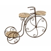 Benzara Garden Three Shelf Tricycle Planter Stand For Your Plants