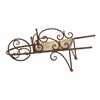 Benzara Country Wheelbarrow Themed Planter Stand For Your Plants