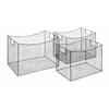 Benzara Classy Styled Stylish Metal Wire Basket