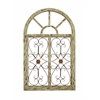 Benzara Wooden Gate Style Garden Wall Plaque