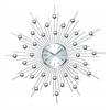 Metal Wall Clock Wall Clock Featuring Star Burst