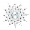Benzara Metal Wall Clock Wall Clock Featuring Star Burst