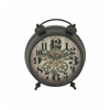 Benzara Spectacular Metal Table Clock