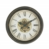 Benzara Magnificently Styled Metal Wall Clock