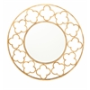 "Benzara Attractive Metal Wall Mirror 32""D"