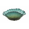 Benzara Smart Patterned Glass Fluted Bowl