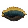 Benzara Stylish Patterned Glass Flared Bowl