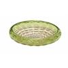 Benzara Customary Styled Glass Green Bowl