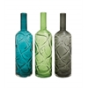Benzara The Simple Glass Vase 3 Assorted