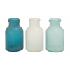 Benzara The Smooth Glass Vase 3 Assorted
