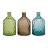 Benzara Fantastic Styled Glass Vase 3 Assorted