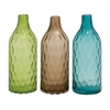 Benzara Unique Styled Glass Vase 3 Assorted