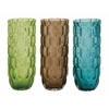 Benzara Captivating Glass Vase 3 Assorted