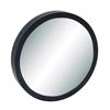"Wood Wall Mirror 33""D, Black, Reflective"