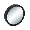 "Wood Wall Mirror 28""D, Black, Reflective"