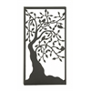 Elegant Metal Outdoor Tree Wall Plaque