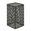 Benzara Appealing Metal Outdoor Accent Table