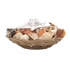 "Benzara Sassy Sea Shell Bowl 11""W, 5""H"