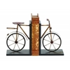 Benzara Metal Bookend Pair Complete Book Care