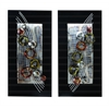 Benzara Metal Wall Deco Set Of 2 Assorted Amazingly Low Priced