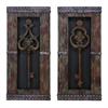 Wood Metal Wall Decor 2 Asst Ultimate Handwork