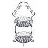 Old Era Two Tier Treat Basket Stand