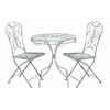 Benzara Patio Vintage Themed Outdoor Table And Chair Set