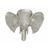 "Alluring Metal Elephant Wall Decor 16""W, 13""H"