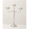 "Captivating Aluminum Candle Stand 20""W, 26""H"