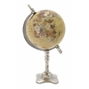 "Benzara Exquisite Metal Pvc Globe 7""W, 13""H"