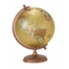 "Decorative And Informative Metal Pvc Globe 12""W, 17""H"