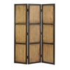 Benzara Wood Screen 48 Inches Wide For Decorative Protection
