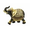 Benzara Polystone Elephant With Intricate Detailing And Carvings
