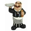 Benzara Polystone Waiter W/Plate Invited To Dine