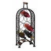 Benzara Metal Wine Rack Make Your Bar Area More Inviting