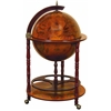 Wood World Globe Bar Needed To Entertain Guests