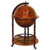 Benzara Wood World Globe Bar Needed To Entertain Guests