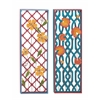 Fancy Metal Wall Decorative 2 Assorted