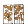 Classy Metal Wall Decorative 2 Assorted