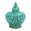 Benzara Yangtze Fascinating Contemporary Styled Ceramic Jar