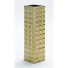Benzara Superior Quality Ceramic Gold Vase With Attractive Design